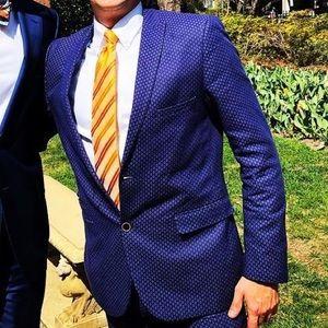Other - Paisley & Grey Men's 40 Slim Suit w 31-32 Pants